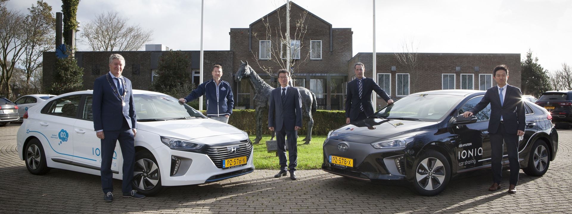 Hyundai steunt duurzame ambitie Ameland met elektrische auto's