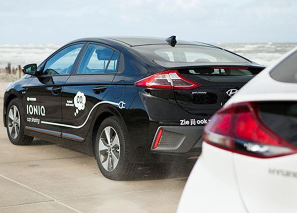 Autodelen met Hyundai, nu ook op Ameland!