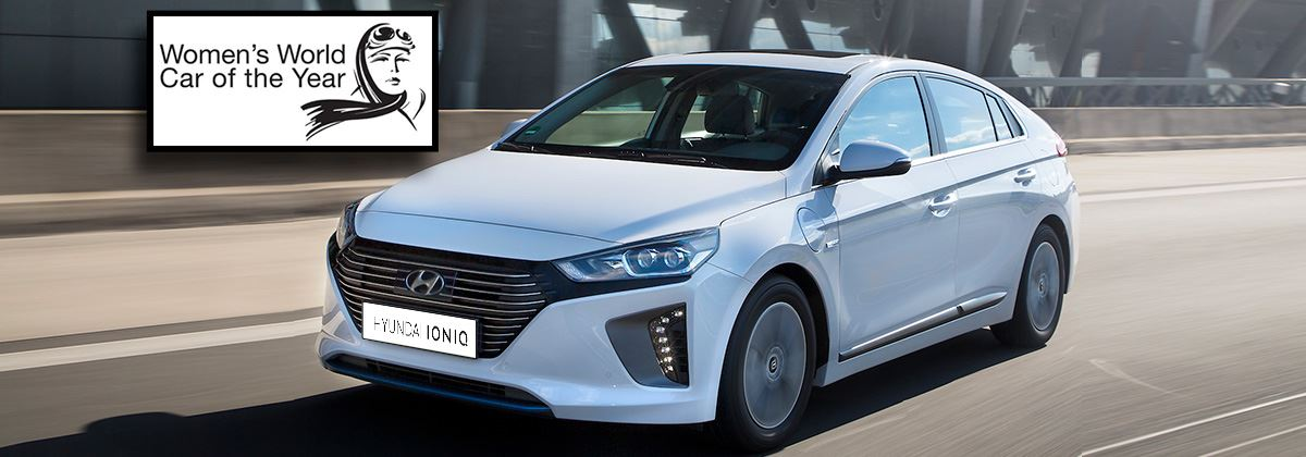 Hyundai IONIQ is Women's World Car of the Year