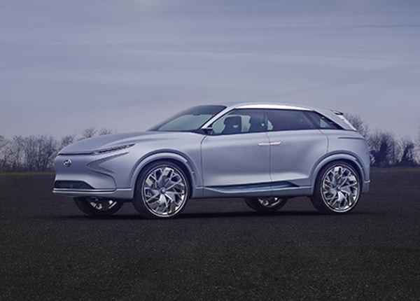 Hyundai FE Fuel Cell Concept te zien op Energy-Island