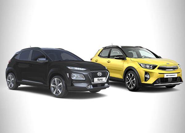 Allereerste krachtmeting Hyundai KONA vs. Kia Stonic: wie wint?