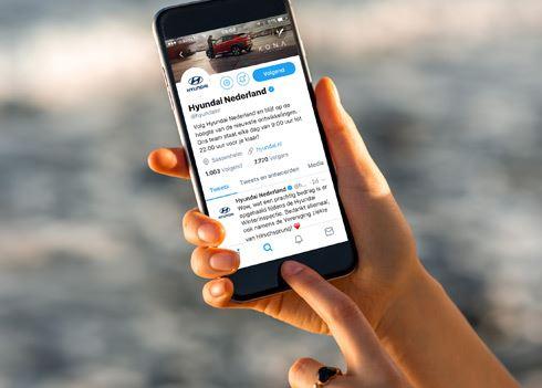Hyundai zorgt voor veel buzz op sociale media