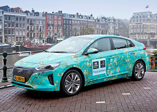 Hyundai trots op Van Gogh Museum!