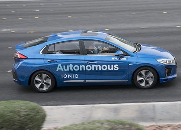 In 2021 zelfrijdende Hyundai Level 4