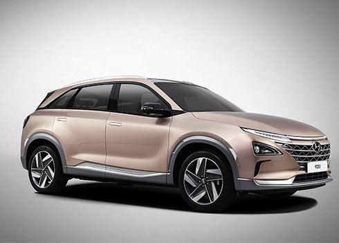 Hyundai onthult zijn allernieuwste waterstofauto in Las Vegas