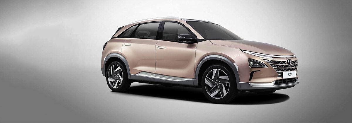 Nieuwe waterstofauto Hyundai debuteert op CES 2018