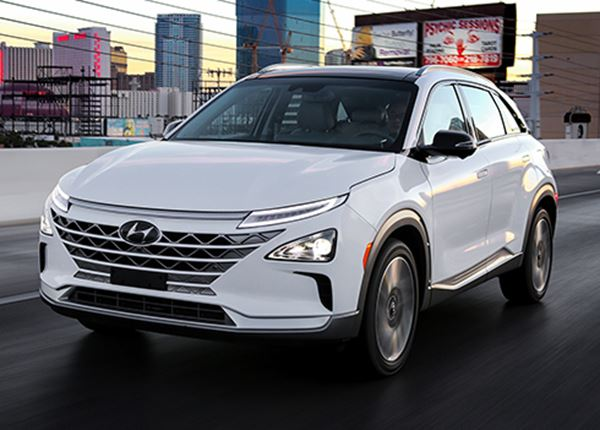 Hyundai noemt zijn nieuwe waterstofauto NEXO!