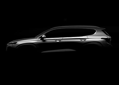 PRIMEUR: eerste foto nieuwe SUV Hyundai Santa Fe!