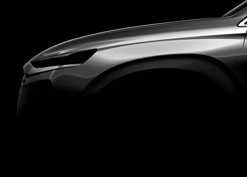 Eerste foto nieuwe SUV Hyundai Santa Fe!