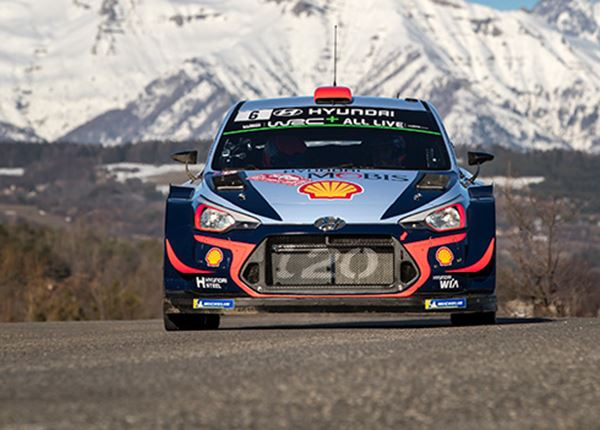 Indrukwekkende inhaalrace in Rally van Monte Carlo