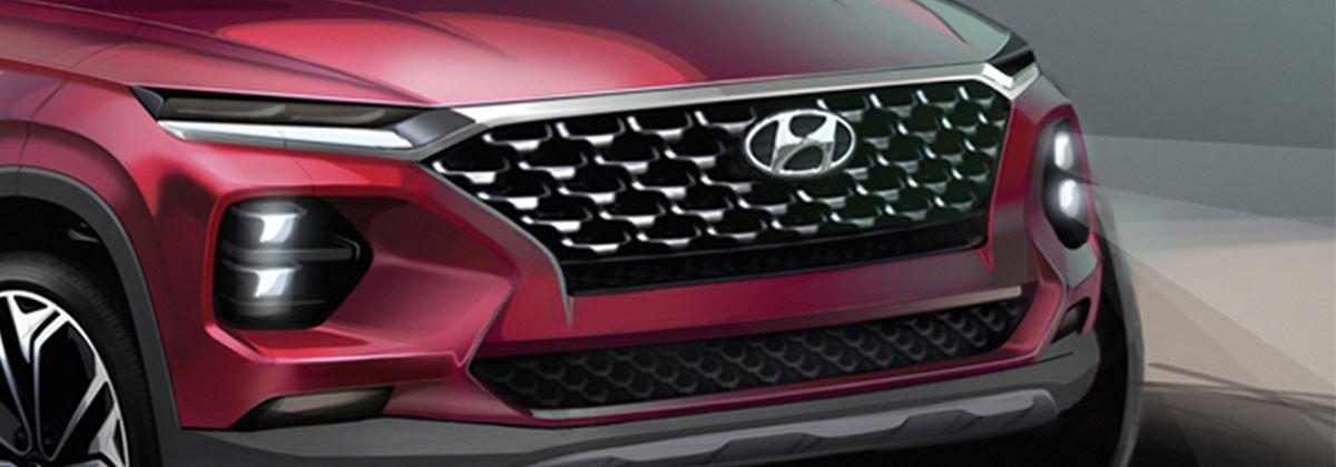 Nieuwe Hyundai Santa Fe geeft zich nog meer bloot