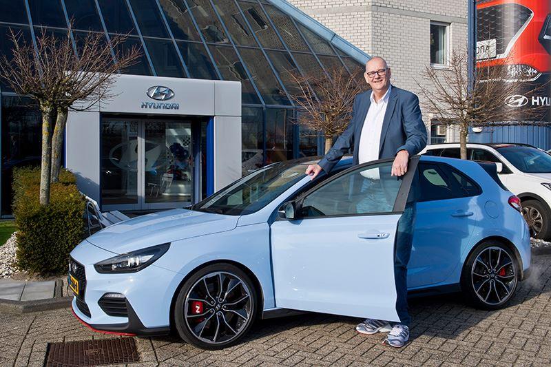 Foto: Behalve de Hyundai i30 Wagon kreeg ook de Hyundai i30 N de goedkeuring van Rob Bruintjes. De hot hatch is er in twee uitvoeringen: met 250 pk en met 275 pk.