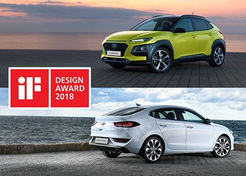 Twee iF Design Awards voor Hyundai