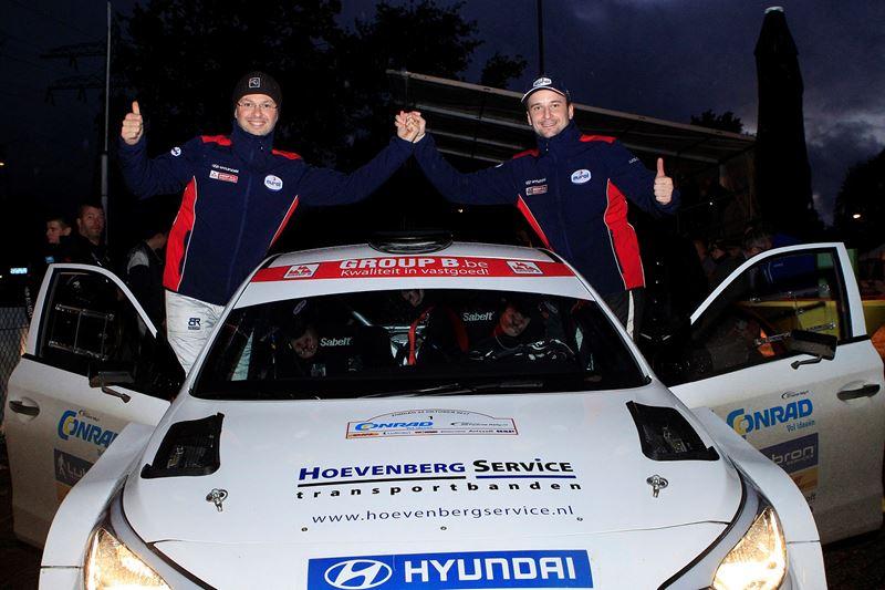 Bob de Jong met Hyundai i20 R5 op titeljacht