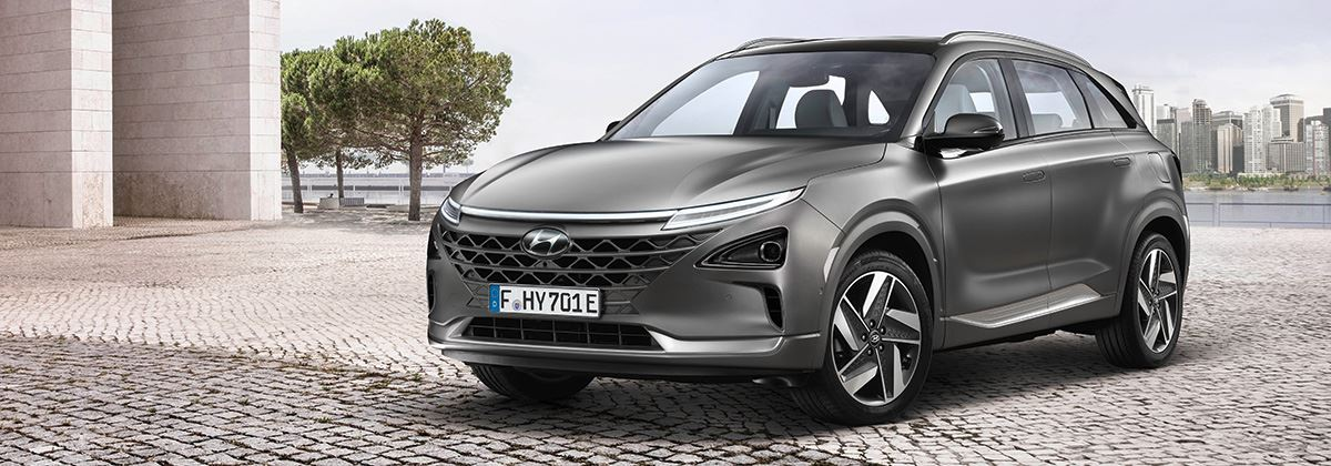 Hyundai NEXO Europese primeur in Genève