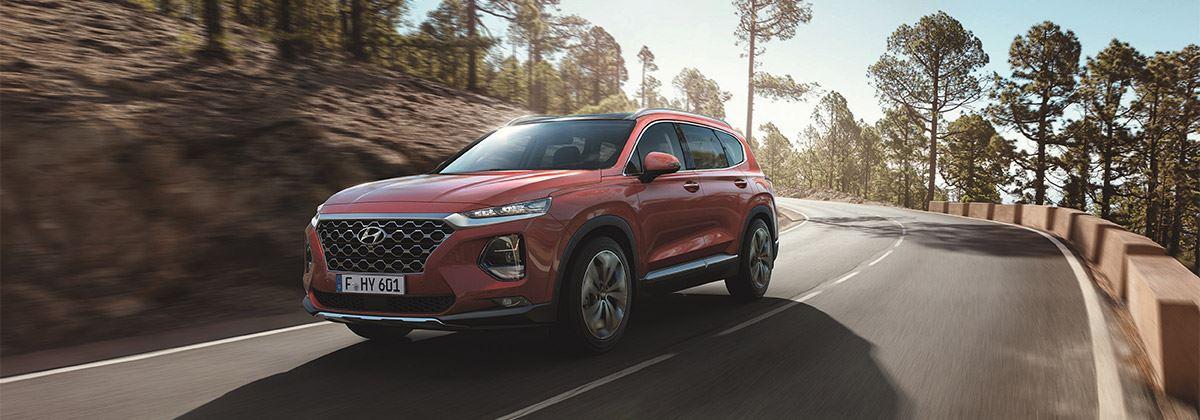 Onthulling Hyundai Santa Fe op Autosalon van Genève