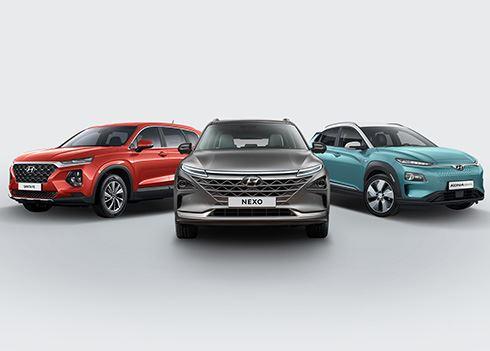Hyundai showt NEXO, KONA Electric en Santa Fe