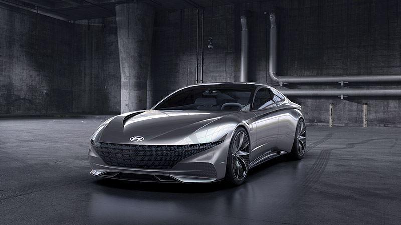 Hyundai concept car Le Fil Rouge.