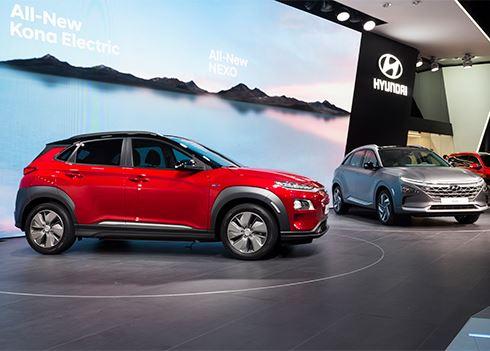 Hyundai KONA Electric en NEXO stelen de show in Genève