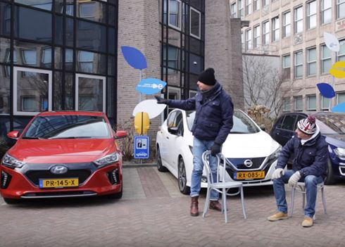 ANWB triotest: IONIQ Electric vs. Nissan LEAF vs. Volkswagen e-Golf