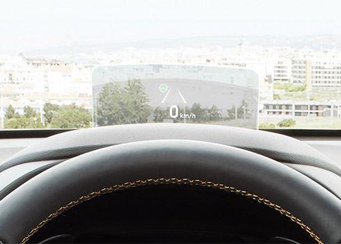 Zo werkt de head-up display in de nieuwe Hyundai KONA