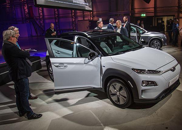 VIDEO: Hyundai KONA Electric en NEXO voor het eerst te zien in Nederland
