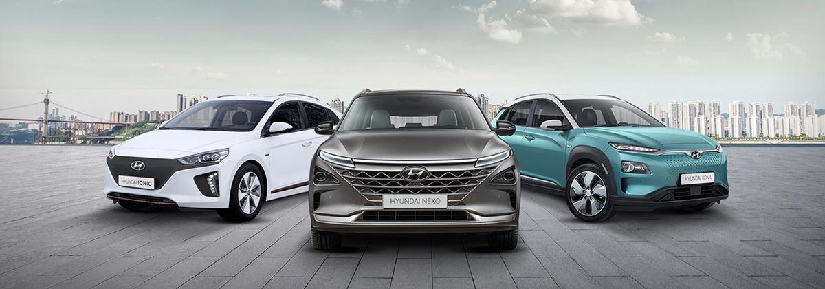 Hyundai lanceert aanvalsplan voor groene mobiliteit