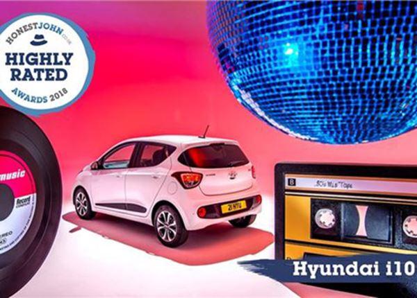 Hyundai i10 uitgeroepen tot meest gewaardeerde auto