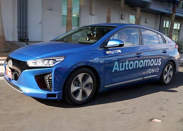 Hyundai investeert in autonoom rijden