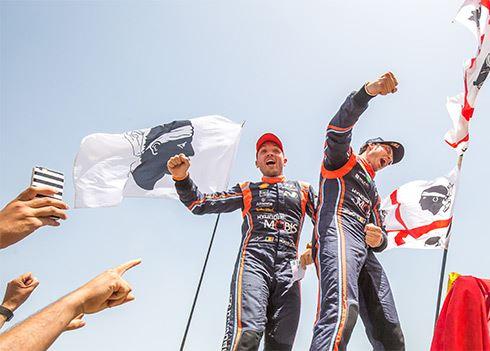Ook zege in de Rally van Sardinië - Thierry Neuville steviger aan kop