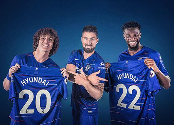 Hyundai nu ook sponsor van Chelsea