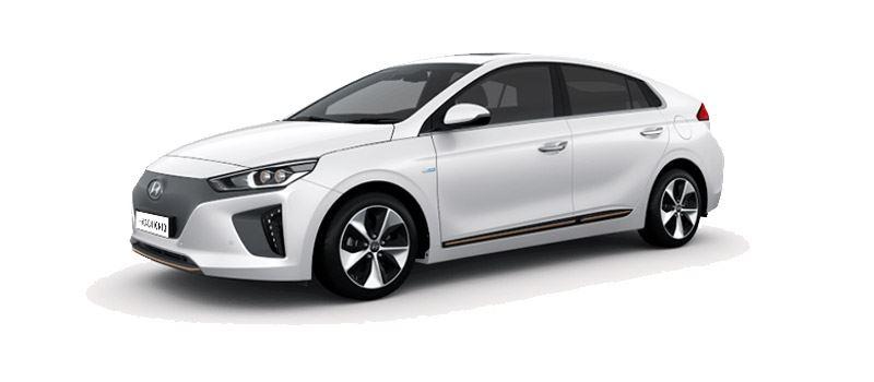 Foto: de Hyundai IONIQ Electric is als een van de weinige volledig elektrische auto's direct leverbaar.
