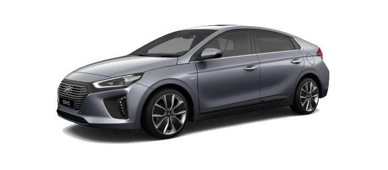 Foto: de Hyundai IONIQ Hybrid combineert de beste aerodynamica van zijn klasse met een slimme aandrijflijn.