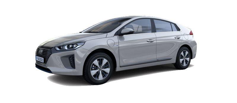 Foto: de Hyundai IONIQ Plug-in Hybrid kan in de volledig elektrische modus tot wel 63 km afleggen.
