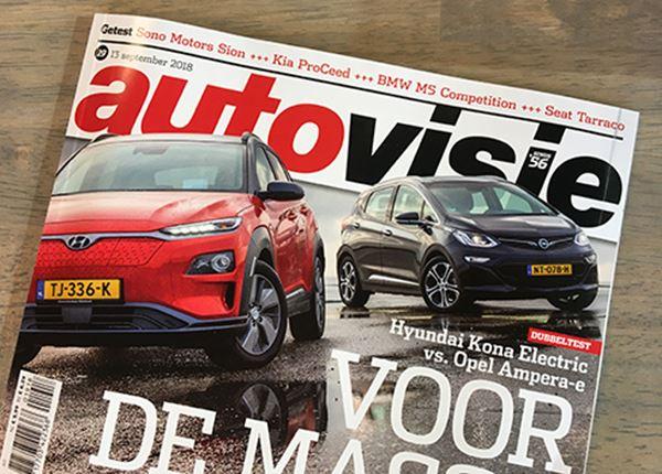 Hyundai KONA Electric verslaat Opel Ampera-e in test Autovisie