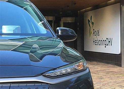 Royal HaskoningDHV voegt Hyundai KONA Electric toe aan vloot