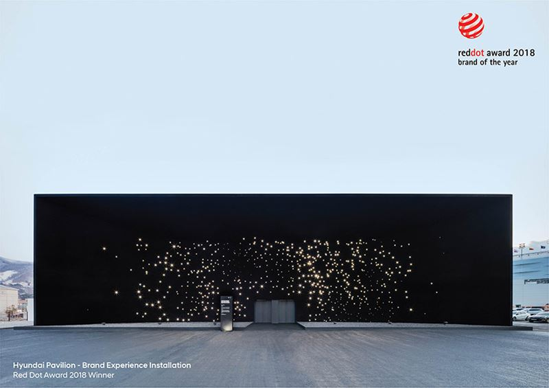 Hyundai Pavilion - Brand Experience Installation (Red Dot Award 2018 Winner)