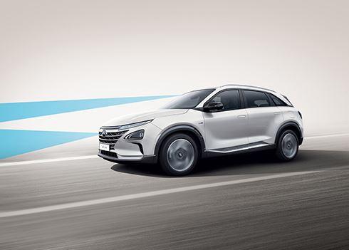 Hyundai NEXO scoort maximale 5 sterren Euro NCAP