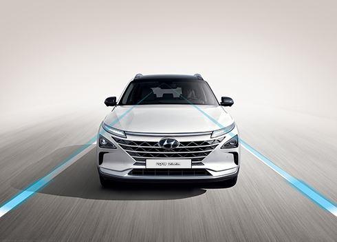 Waterstofauto Hyundai NEXO behaalt maximale score bij crashtest Euro NCAP