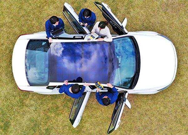 Hyundai ontwikkelt oplaadsysteem op zonne-energie voor auto's