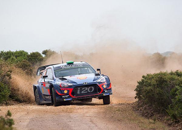 Rallyteam Hyundai dicht bij allereerste wereldtitel