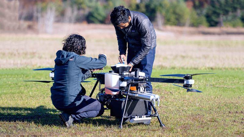 Hyundai onderzoekt samen met Top Flight de mogelijkheden voor zakelijk gebruik van drones.