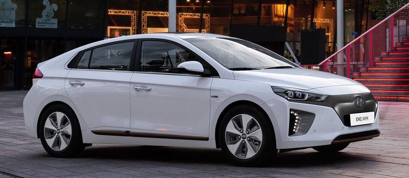 De 100 % elektrische Hyundai IONIQ Electric is snel leverbaar.