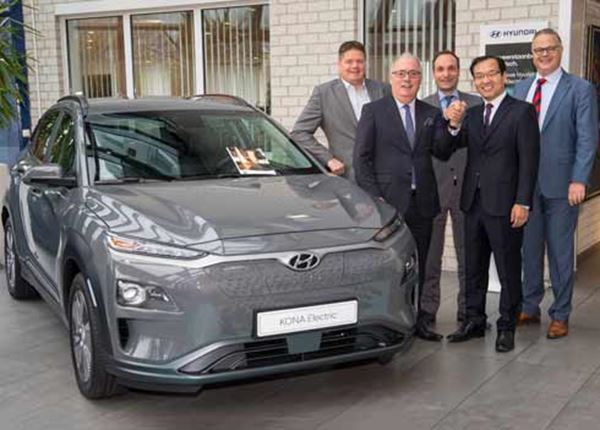 Hyundai en Arval tekenen overeenkomst