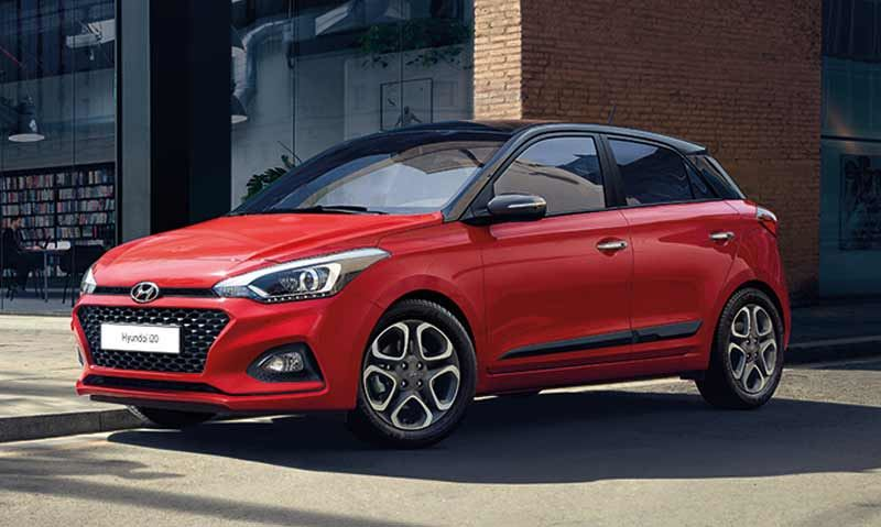 De nieuwe Hyundai i20.