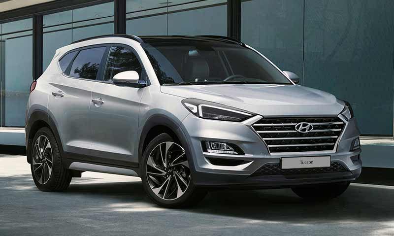 De nieuwe Hyundai Tucson.