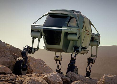 Hyundai Walking Car Concept is toekomst van hulpverlening