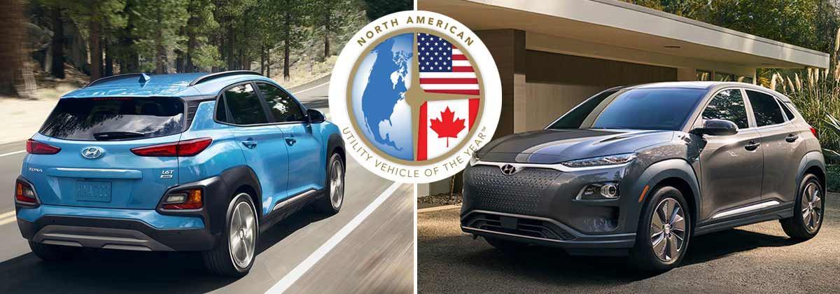 KONA en KONA Electric SUV van het Jaar 2019