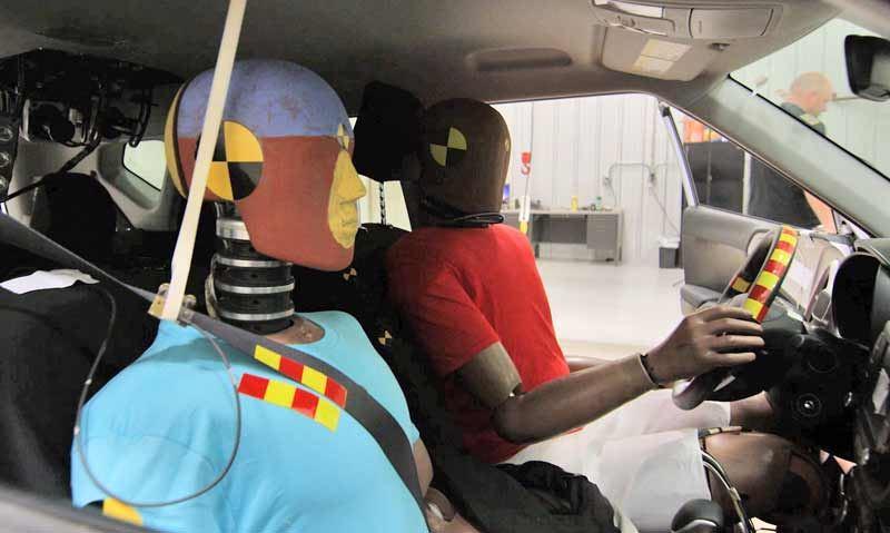 Hyundai multi-collision airbagsysteem.