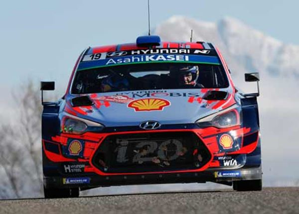 Prima start van WK in Rally van Monte Carlo